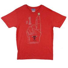 NBA Chicago Bulls #1 Fan Junk Food Vintage Adult Shirt S-XXL