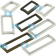 18 25 32 38 50mm Metal Rectangle Rings Buckles Webbing Straps Bags Purses Belt