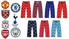 Mens Football Lounge Pants Manchester Utd City Liverpool Fc Pyjama Bottoms