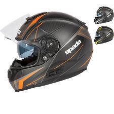 Spada SP16 Linear Motorcycle Motorbike Full Face Helmet Crash Bike EC2205 ACU