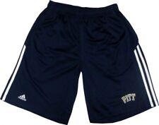 Pitt Panthers Adidas 3-Stripe Blue Athletic Gym Shorts