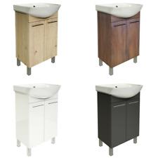 Badmöbel Set 40 50 60 Waschbecken mit Unterschrank Waschtischunterschrank Farbe