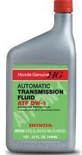 Genuine OEM Honda Automatic Transmission Fluid ATF DW-1 Single Quart