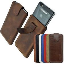 Exclusive Echt Ledertasche Tasche Handytasche Handyhülle für das HTC U11 Life