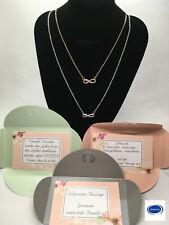 Kette Halskette Unendlichkeit Trauzeugin Geschenk Armband Silber Schwester Mama