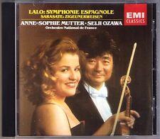 Anne-Sophie MUTTER: LALO Symphonie espagnole SARASATE Zigeunerweisen SEIJI OZAWA