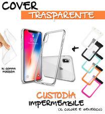 "CUSTODIA IMPERMEABILE SMARTPHONE 6""+ COVER TPU TRASPARENTE PER Motorola E4"