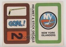 1979-80 Topps Stickers #NYI New York Islanders Team Hockey Card