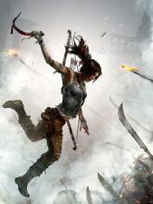 Tomb Raider Lara Fight Video Game Giant Print POSTER Affiche