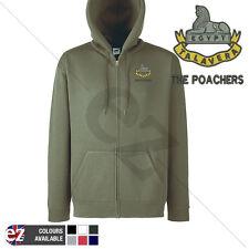 Royal Anglian Poachers - Hoodie Zipped + Personalisation
