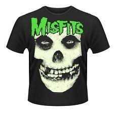 "Misfits ""glow jurek skull"" t shirt-nouveau"