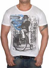 Vintage T-Shirt Totenkopf - Slim Fit Biker Shirt - Retro Look  -  S bis XL