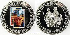 SUISSE  ,  10 FRANCS  , 150  ANS DE LA MONNAIE SUISSE , 1850 - 2000 , FDC