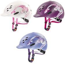 Uvex ONYX KIDS Adjustable Riding Helmet Hat Kite VG1 Black/Blue/Berry/White/Blue