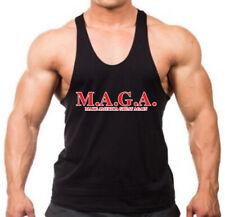 Mens MAGA Stringer Tank Top T-Shirt America Great Elections 2020 President Trump