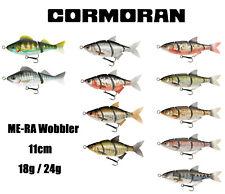 Team Cormoran ME-RA Wobbler 11cm Roach / Shad / Perch 18g / 24g für Hecht Zander