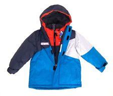ZeroXposur Boys 3 In 1 Fall /  Winter Jacket NWT Size 4  Hooded Blue Cool Rain