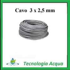 CAVO ELETTRICO 3 X 2,5 MM