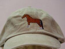ARABIAN HORSE HAT WOMEN MEN ADAMS BASEBALL CAP Price Embroidery Apparel