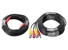 12V DC / BNC Videokabel Stromkabel Kabel Überwachungskamera 5,5mm Hohlstecker