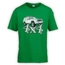 4x4 XJ Kids T-Shirt-x10-colori regalo Off Road Verde Lane American Tow