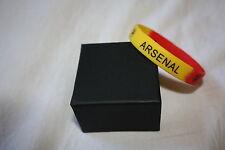 Arsenal F.C Silicone Rubber Bracelet Football / Soccer E.P.L Premier League NEW