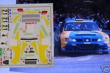 "DECAL CALCA 1/43 SEAT CORDOBA WRC ""TELEFONICA"" S. CAÑELLAS R. CORTE INGLES 2001"