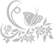 Effet papillon gravé, autocollants fenêtre dépoli (# 2)