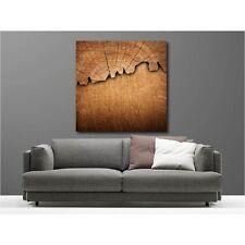 Gemälde leinen quadratisch holz 105490442