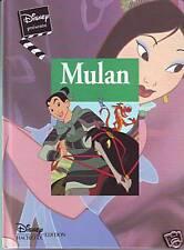 ALBUM  Disney * Hachette * Mulan * Comme Neuf * Cadeau * album enfant
