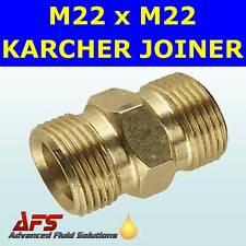 M22 x M22 KARCHER PRESSURE JET WASH HOSE JOINER ADAPTOR