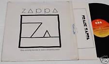 FRANK ZAPPA:LP-SHIP ARRIVING..ORIGINALE ITALY+TESTI EX+