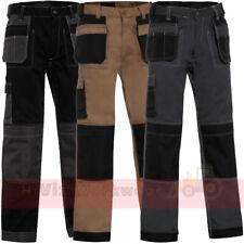 Mens Work Trouser Multi Pocket Tradesman Pants Triple Stitched Workwear Pants