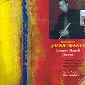 CALOGERO MARRALI - HOMAGE TO JACKIE MCLEAN * NEW CD