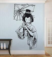 Wandaufkleber: Geisha - japanische/asiatische Frau Asien Japan China WandTattoo
