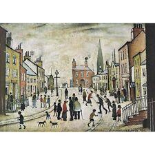 Un Lancashire village-L S Lowry Imprimer
