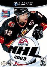 NHL 2003 (Nintendo GameCube, 2002)VG