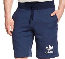 Adidas Original 3 Rayas Esencial Shorts Hombre Informal Polar Shorts de Deporte