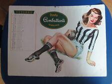 calcio football Pagina Calendario 1955 Squadra Udinese