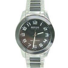 Bering Herren Uhr Armbanduhr Keramik 33041-742 Funkuhr Edelstahl