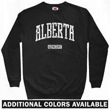 Alberta Represent Sweatshirt Crewneck - Calgary Edmonton Canada AB - Men S-3XL