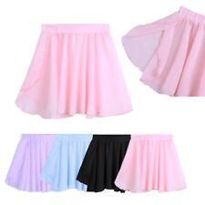 Kids Girl Gymnastics Dancing Ballet Skirt Tutu Dress Party Dancewear Costume Gym