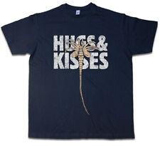 HUGS & KISSES T-SHIRT XOXO Ripley Prometheus Nostromo Weyland Alien Face Hugger