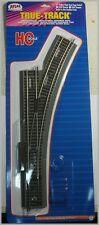 "ATLAS 483 HO Scale Code 83 True-Track Right Hand Manual 22"" Radius Snap Switch"