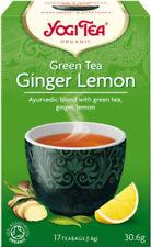 Yogi Tea Green Tea Ginger Lemon 17 Bags Blend Of Green Tea Ginger And Lemon