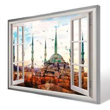 Bild Leinwand Fenster blick Istanbul Türkei Bilder Wandbilder Kunstdruck D1032