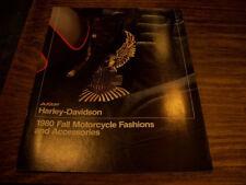 Harley NOS 1980 Fall Motorcycle Fashions & Assy Catalog