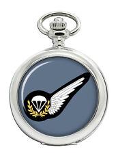 Parachute Jump Instructor Badge, RAF Pocket Watch