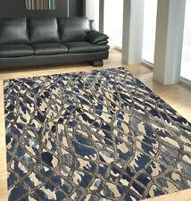 PREMIUM ABORIGINAL LOOK RUGS Floor Mat Carpet Modern Careved Soft U9 *FREE POST*