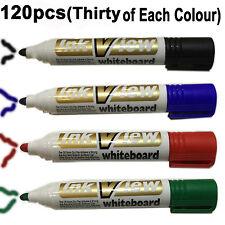 Assorted Whiteboard marker pen bullet tip drywipe school college office standard